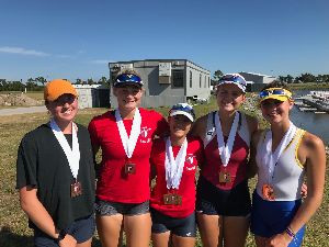 Allie Alton '22 Earns Bronze at Rowing Challenge