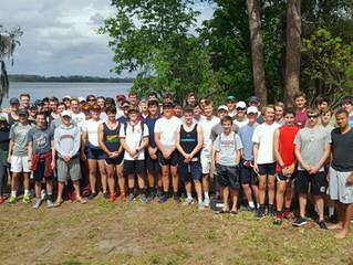 Boys meet with Deerfield Academy
