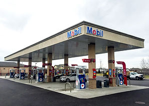 Mobli fuel canopy