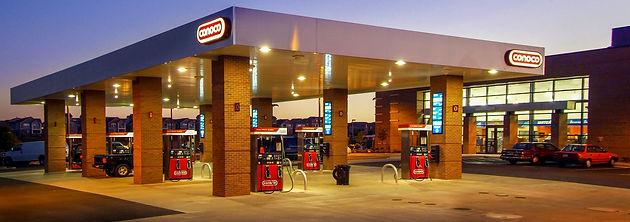 Conoco Fuel Canopy