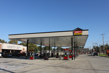 Gas Station Canopy