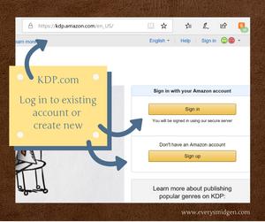 How do I get my book into KDP?