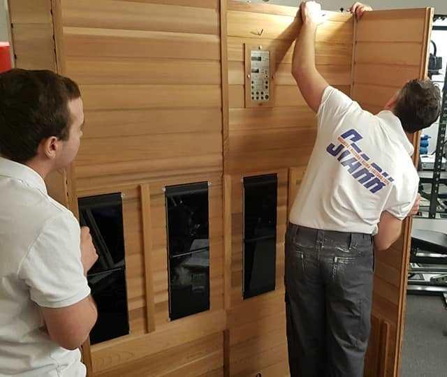 Transport, Montage und IBN Infrarotkabine/Sauna/Dusche/Badausstattung
