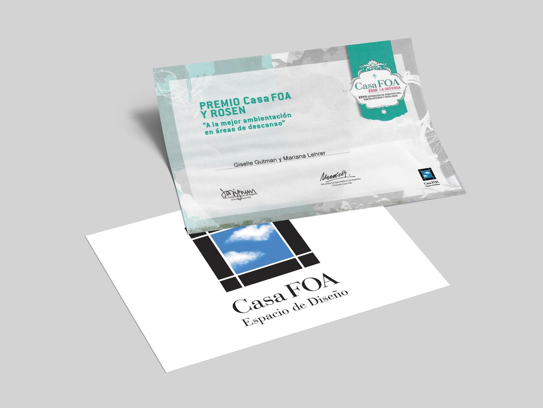 CasaFoa · Premio a la mejor ambientación en áreas de descanso