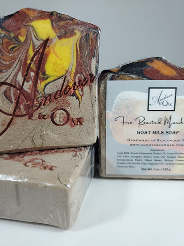 Fire Roasted Marshmallow Scented Goat Milk Soap