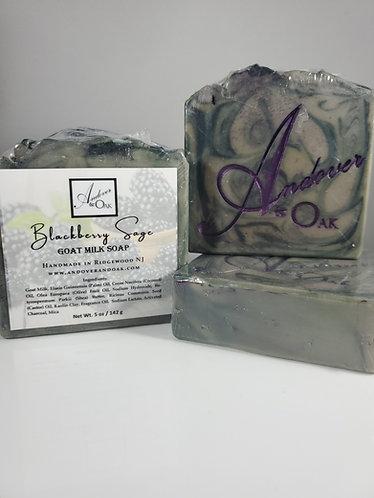 Blackberry Sage Scented Goat Milk Soap