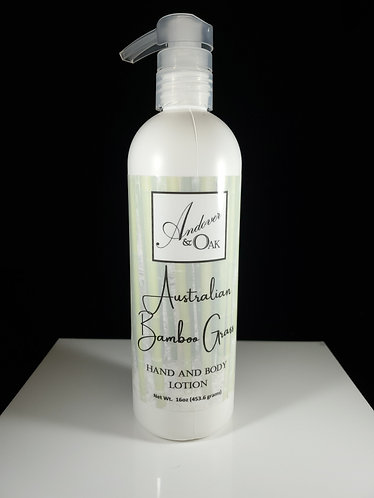 Australian Bamboo Grass 16 oz Hand and Body Lotion