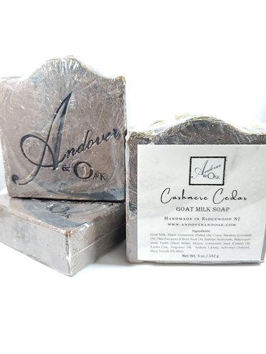 Cashmere Cedar Scented Goat Milk Soap