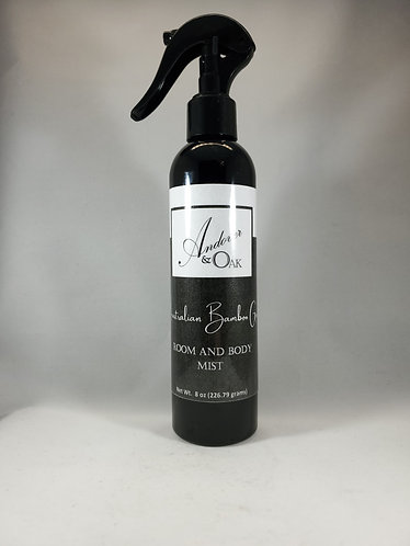 Australian Bamboo Grass Room and Body Mist - 8 oz