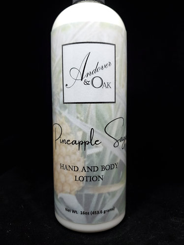 Pineapple Sage 16oz Hand and Body Lotion