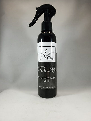 Sea Salt and Orchid Room and Body Mist - 8 oz