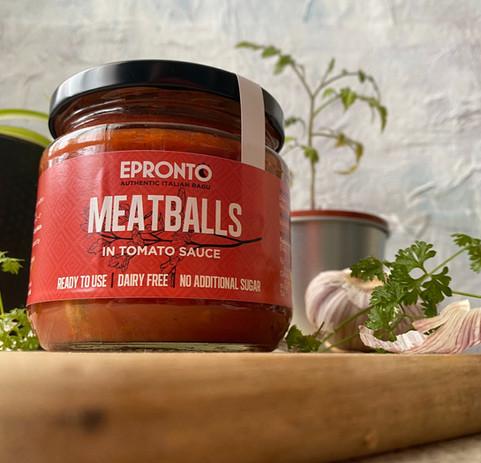 Meatballs in tomato