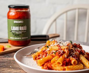 Lamb ragu pasta sauce