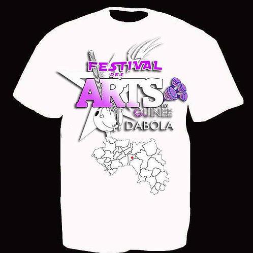 T-shirt Festival des Arts de Guinée