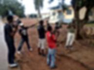 Hamed keita et ses reporteur de Tinkisso media