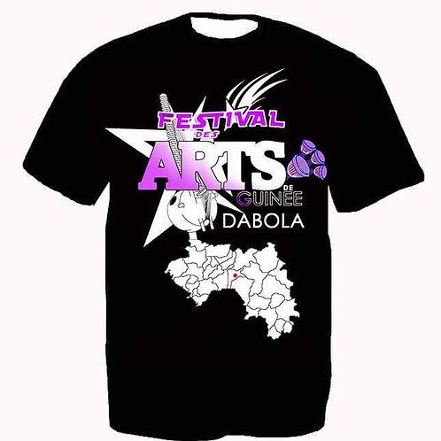 T-shirt Festival des Arts de Guinèe