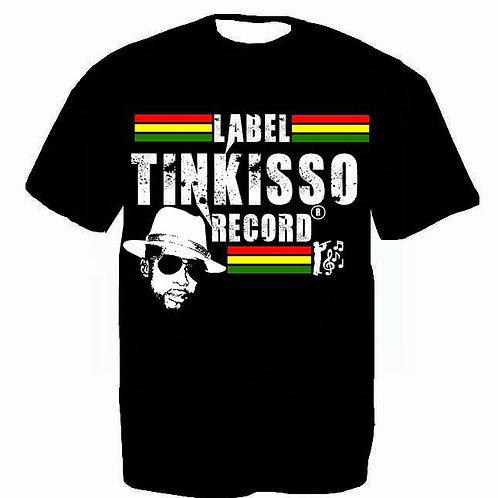 T-shirt Label TINKISSO REC