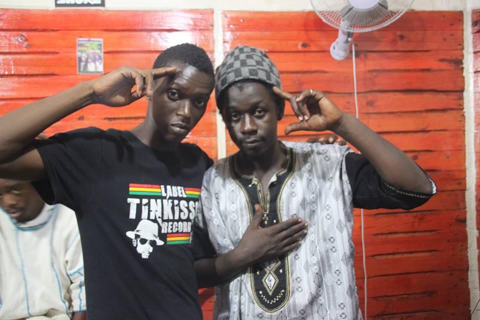 Baba Samba et Manager Traore