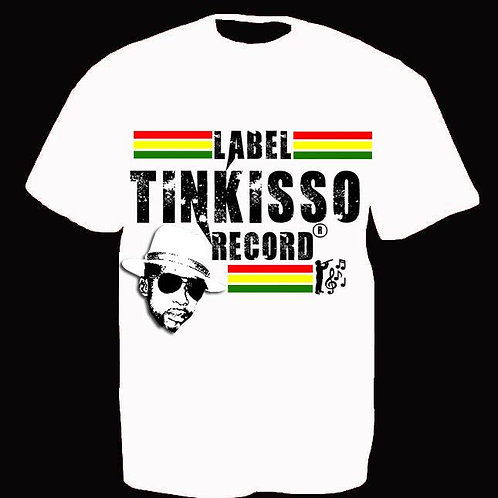 T-shirt Label TINKISSO RECORD
