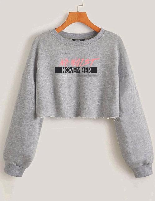 No Waist November 2020 Cropped Sweatshirt