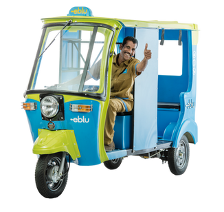 Eblu - EV Rickshaw