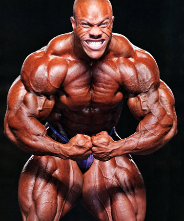 Phil Heath: Aesthetically pleasing or freak show?