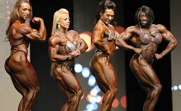 Women bodybuilders: The road less traveled