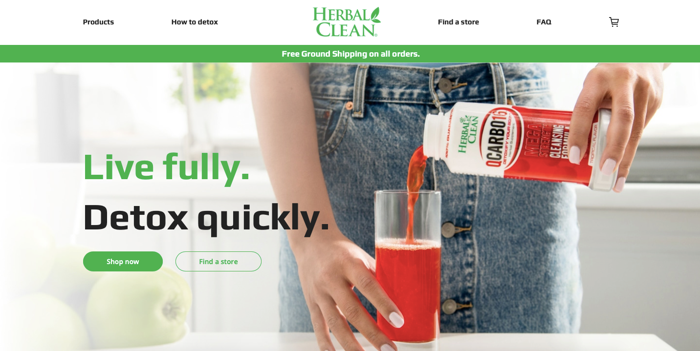 Website | Herbal Clean