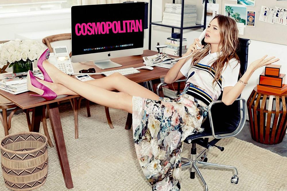 Фэшн-редактор для сайта Cosmopolitan
