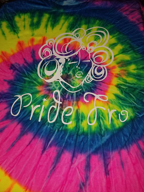 Pride Fro Tie-dye Shirts