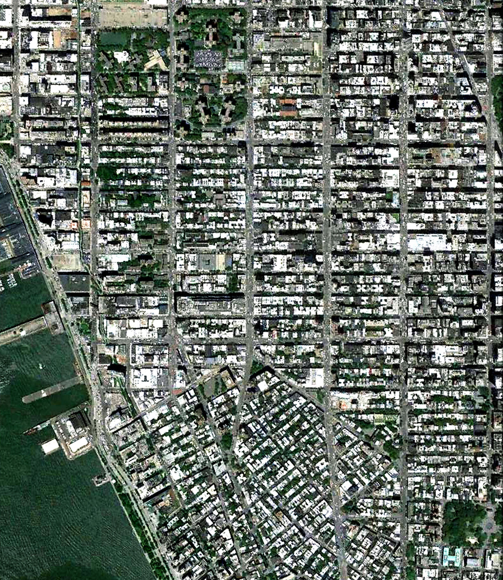 NYC Aerial, Chelsea & West Village