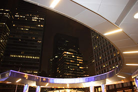 Battery Park Plaza Canopy Night Light MVR Concept