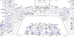 Base Plan Existing Landscape Plants