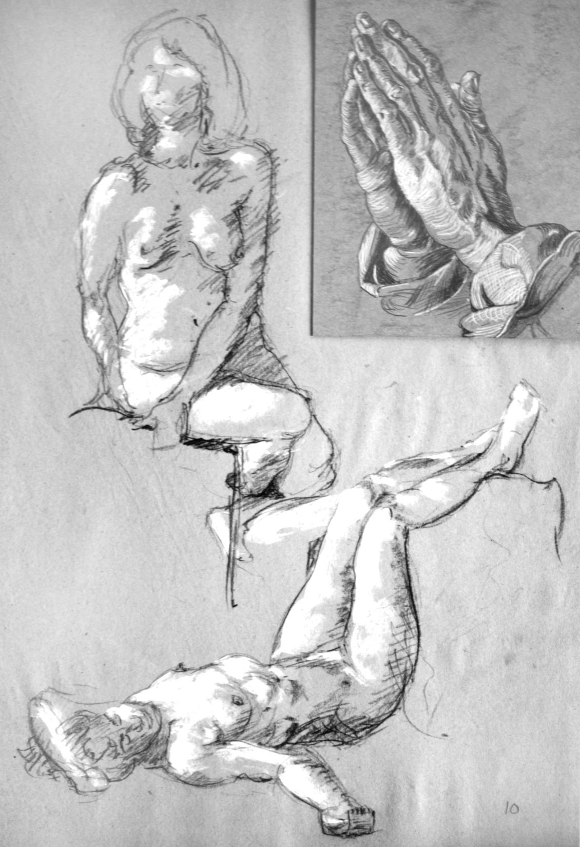 2 Figures & Praying Hands SheroesNY