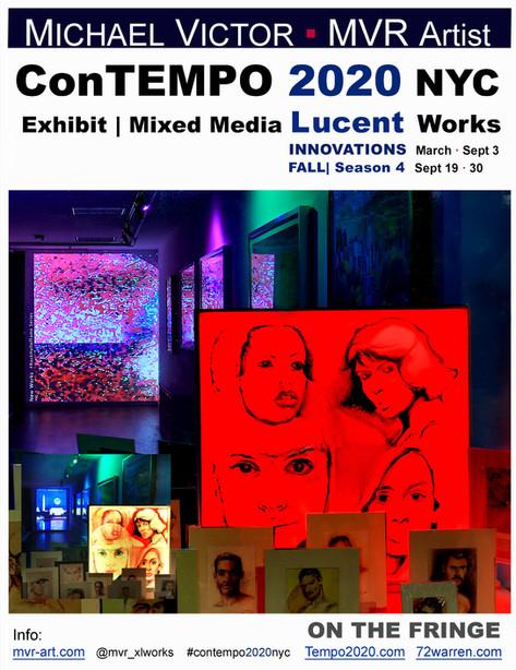 ConTEMPO 2020 NYC Innovations Art  Fall 4 CONTEMPOrary Art 2020