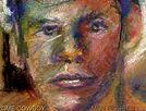 Enlarged Figure Pastel color detail 2007
