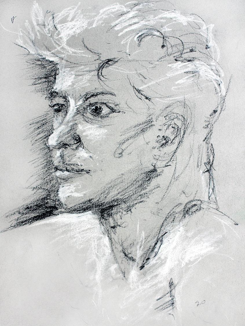 Blonde Portrait SheroesNY