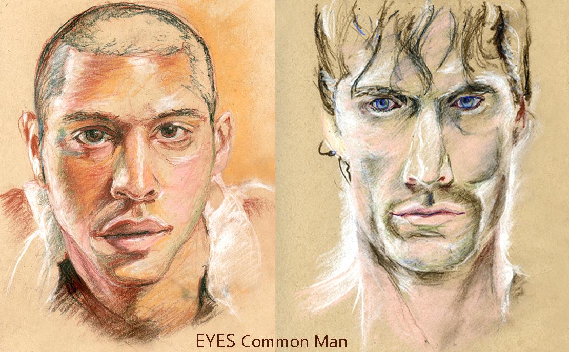 Eyes Common Man AllUSHeroes