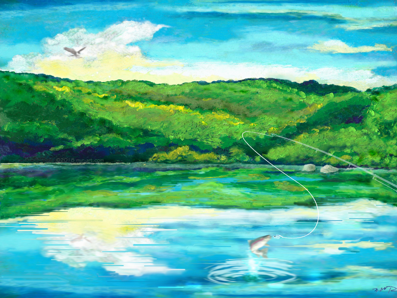 Nativescape Upstate Fishing Lake 11.9