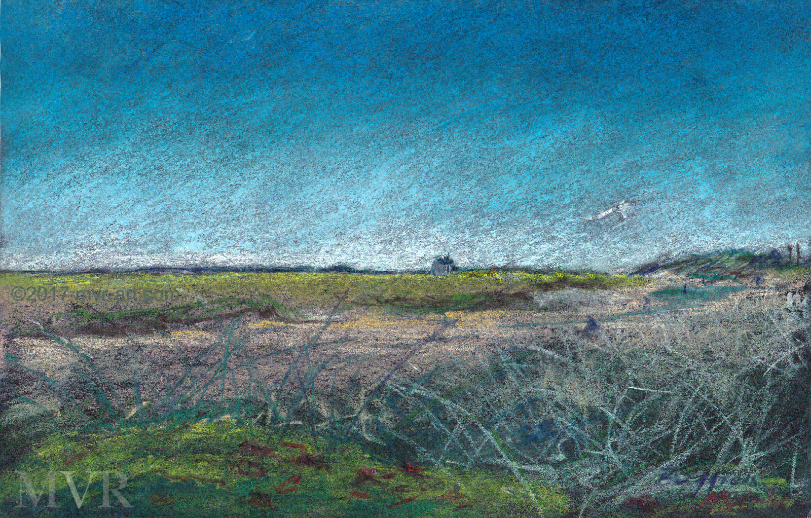 Cape Tidal Dune_Ptown ConTEMPOrary Art Impressionist Landscape NYMA