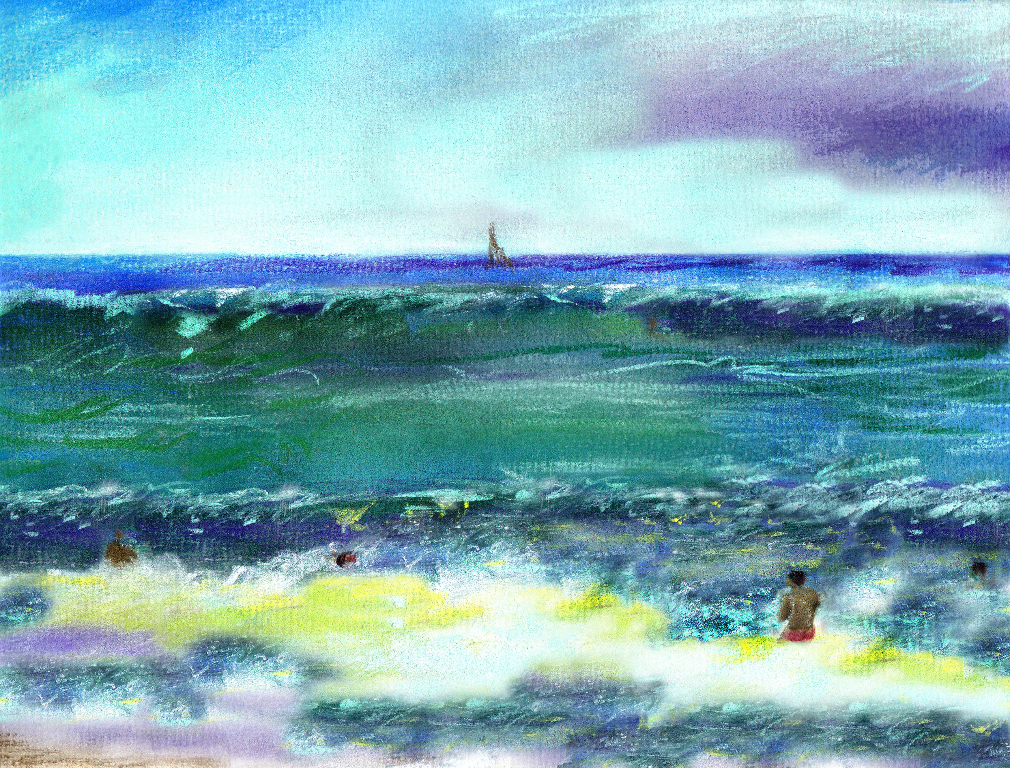 Julien Sands Atlantic Ocean Bathing