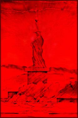 Red LED Liberties Sheroes NY