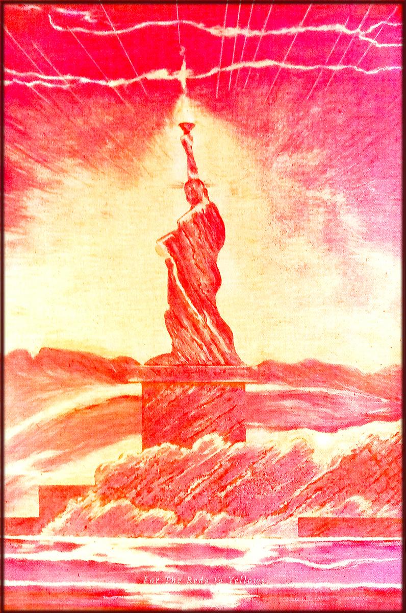 3 Orange  LED Liberty SheroesNY | Contempo 2020 NYC Innova