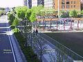 NYC Hudson River Greenway at BPC West Thames Park