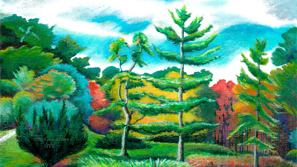 Tupelo Pines LSCP Garden Innisfree Autumn