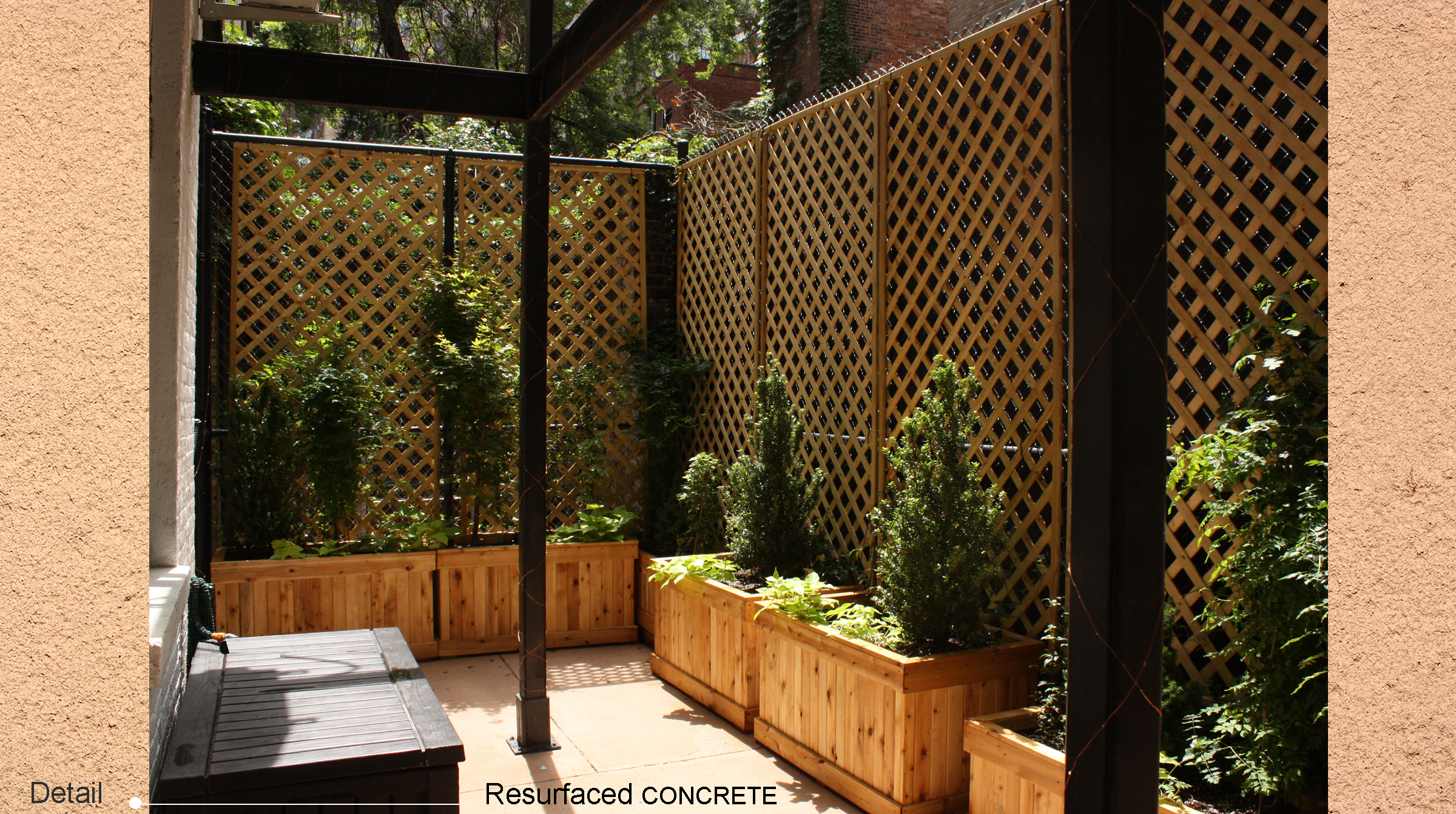 2016 NYC Yard Patio Makeover