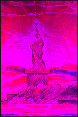 9 Violet!  LED Liberty. Red Y Sheroes NY