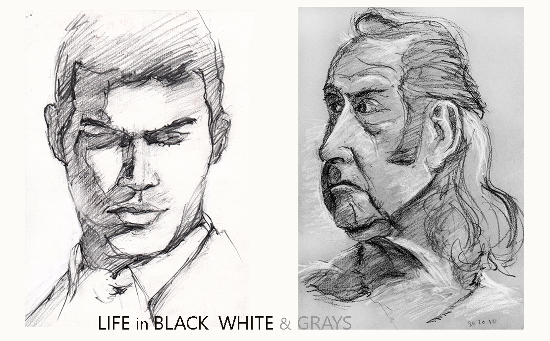 Life in Black White  Grays AllUSHeroes