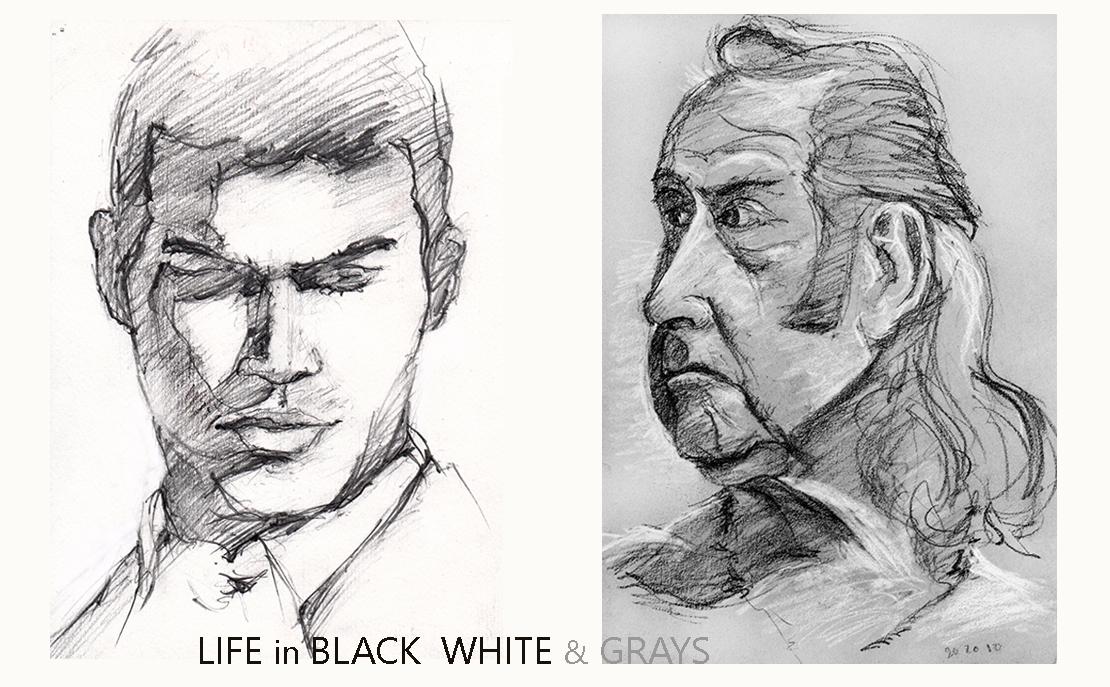 Life in Black White  Grays AllUSHeroes