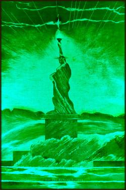 5 Green LED Liberty. Red Y Sheroes NY
